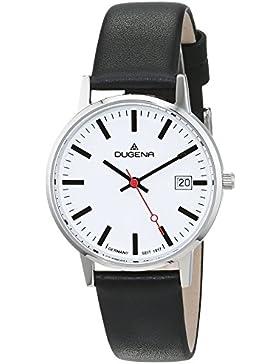 Dugena Damen-Armbanduhr Moma - Modern Classic Analog Quarz Leder 4460400