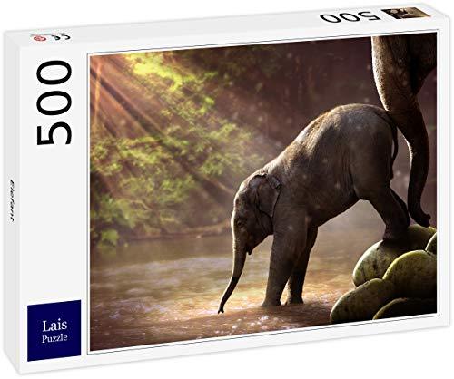 Lais Puzzle Elefante 500 Piezas