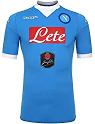 Napoli 15/16 Players Home S/S Football Shirt