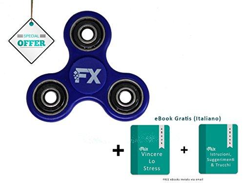 FLUX Fidget Spinner Ceramic - 2-3 minuti spin – Mano EDC per ridurre lo stress