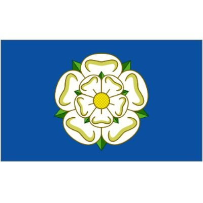 New YORKSHIRE ROSE COUNTY Flag Large 5ft x 3ft with 2 metal Eyelets Test