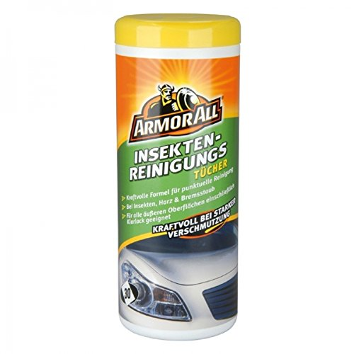 1 x ArmorAll 36115L Insekten-Reinigungstücher 30 Stk. auch Klarlack geignet KFZ