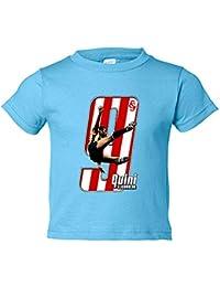 Camiseta niño Quini El Brujo fútbol