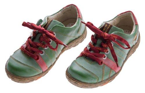 TMA , Chaussures de ville à lacets pour femme Vert - Vert
