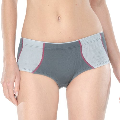 SCHIESSER Damen Hip Pant Extreme 2er Pack Grau (203-anthrazit)
