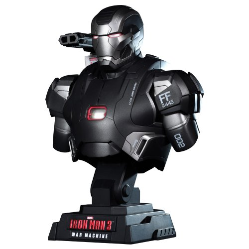 "Preisvergleich Produktbild [Hot Toys Bust: ""Iron Man 3"" 1/4 Scale Bust War Machine (japan import)"