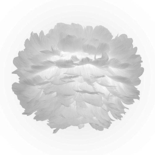 Bronze-feder-wand-beleuchtung (YANGWB2000 Feder Nachttischlampe, Wohnzimmer Wand Schlafzimmer Arbeitszimmer LED kreative Feder Lampe, Kinderzimmer Hochzeitszimmer Nachttischlampe Geschenk (Color : White Light))