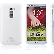 Xcessor Vapour Funda Carcasa de TPU Gel Flexible Para LG G2. Transparente