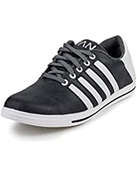 PAN Mens G40 GREY Synthetic Leather Casual Shoe