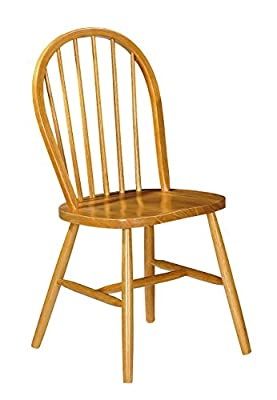 Julian Bowen Windsor Dining Chairs, Pine, Set of 2 produced by Julian Bowen - quick delivery from UK.