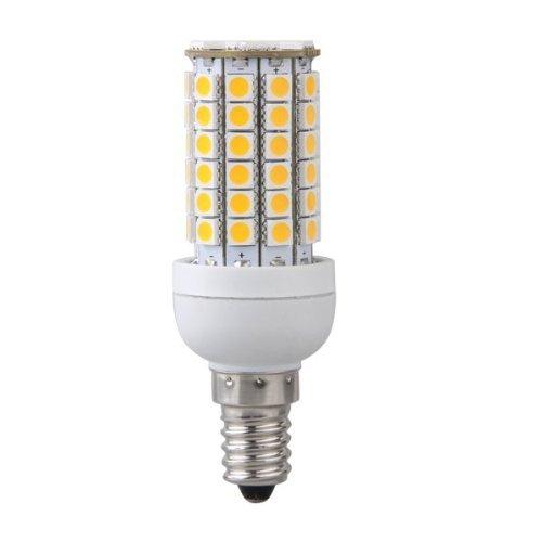 Sonline E14 8W Ampoule Lampe Spot Mais 69 LEDs 5050 SMD Blanc Chaud 3000K 500LM