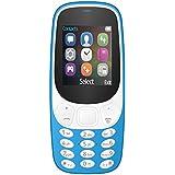 I KALL 1.8 Inch (4.57 Cm) Dual Sim Feature Phone - K3310 (Light Blue)