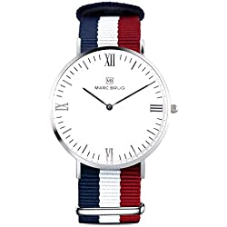 Marc Brüg Men's Minimalist Watch Ibiza 41 Hygge