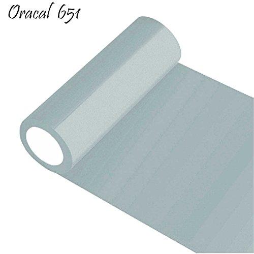 INDIGOS Oracal 651 Orafol glänzend, für Küchenschränke und Dekoration, Autobeschriftung, Schutzfolie Folie 5 m, Breite 50 cm, Farbe 72, hellgrau, ORACAL651-1-5mx50-72