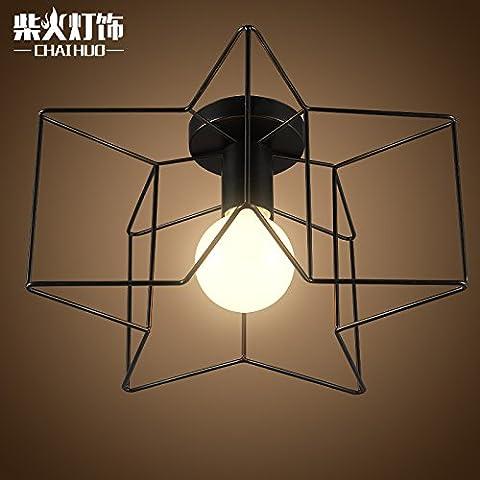 Star Creative moderna aderente lampade nel soggiorno balconi corridoio di luce Led luce a soffitto lampade Ristorante