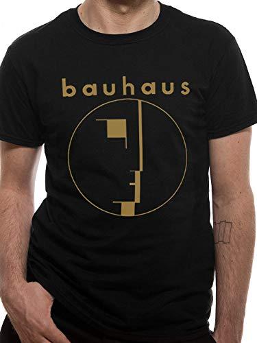 T-Shirt (Unisex-Xl) Gold Spirit Logo (Black)