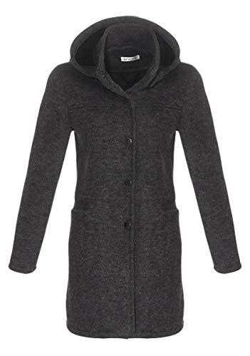 OSAB-Fashion 4827 Gefütterter Damen Mantel Jacke Winterjacke Wattejacke Kapuze Wintermantel