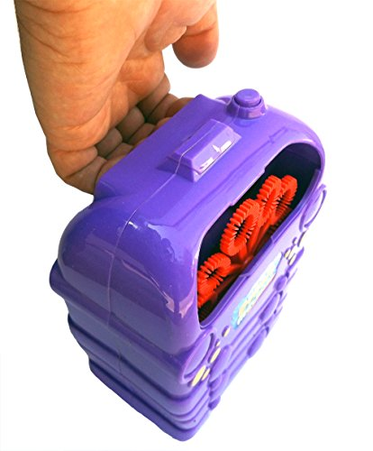 Brigamo 21009 – ✌ Seifenblasenmaschine inkl. Seifenblasen Nachfüllflasche ✌ - 2