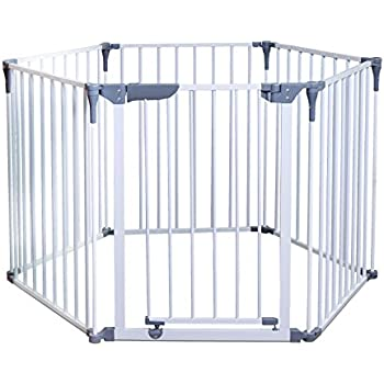 Safe And Secure Metal Playpen Amazon Co Uk Baby