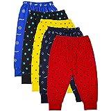 TS LAVI TAVI Soft Cotton Better Comfort Unisex Kids Pyjama Bottoms Set of 5