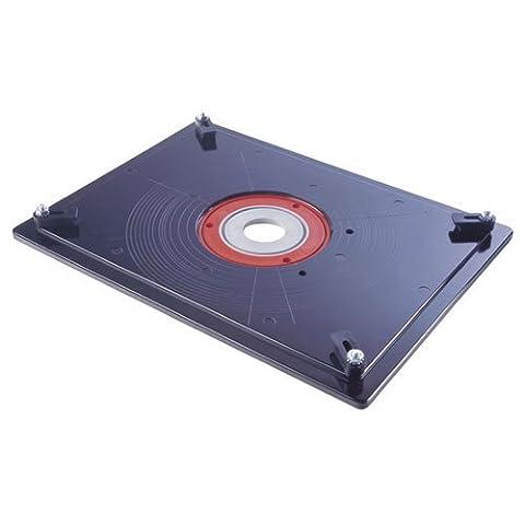 précis MIS Trend Professional Router Table Insert plate [Jig réduisant les accessoires/routeur Accessoires de table] [Lot de 1]–W/3Yr Rescu3® Garantie