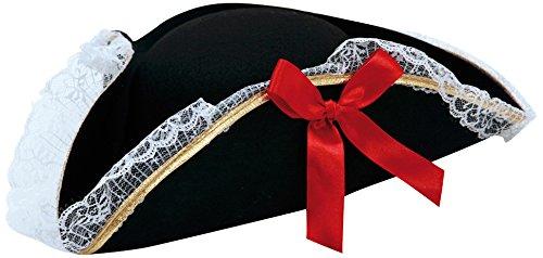 Preisvergleich Produktbild viving Kostüme viving costumes201643Corsair Hat (57cm, One Size)