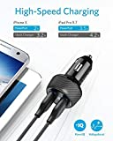 Anker [UPGRADED] PowerDrive 2 Elite, Ultra-Compact 24W Dual Port Car Charger with PowerIQ Technology for Apple, Samsung, and other iOS or Android Mobile Phones and Tablets