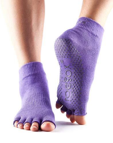 ToeSox - Calzino infradito a 5 dita, Light purple, L