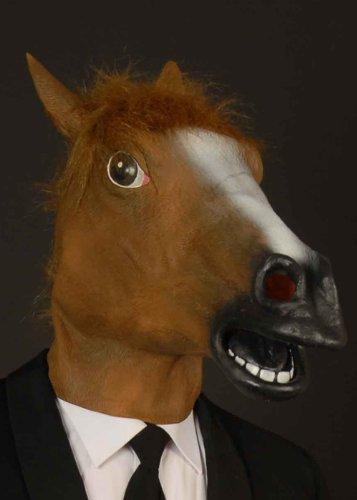 (Braune Pferde Maske)