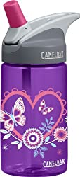 Camelbak Products Eddy Plastic Water Bottle, Kid's 0.4-Litre
