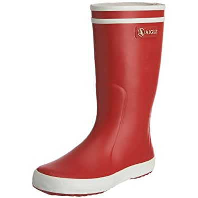 Aigle Lolly Pop, Unisex Adults' Boots-Wellingtons - Red (Red/White 8),1 UK (33 EU)