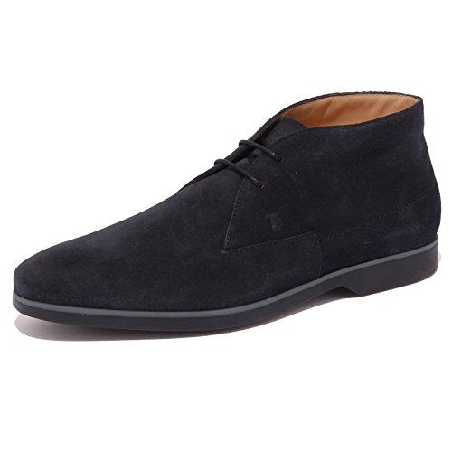 Tod's 4433Q Polacchino Uomo blu Scarpe Boot Shoe Man [9]