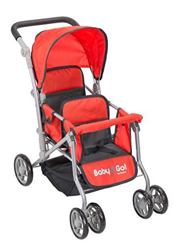 Carro de Muñecas Gemelar Baby & Go
