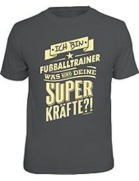 Original RAHMENLOS® T-Shirt für den Fußballtrainer: Was sind Deine Superkräfte?