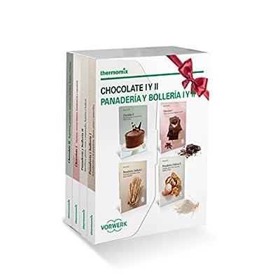 Pack 4 libros: Chocolate I y II y Panadería y bollería I y II