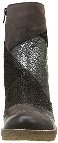 Donna Piu 9880 Jasmine, Bottes Pour Femme Noir (noir (patch Nabuk Africa))