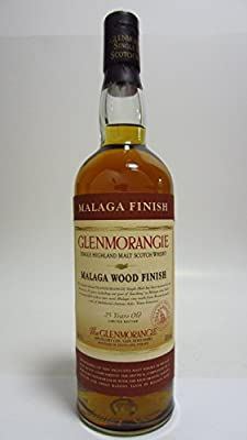 Glenmorangie Malaga Wood Finish 43% 25 years old