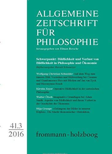 Allgemeine Zeitschrift für Philosophie [Jahresabo]