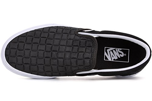 VANS Herren Slipper Echtleder (suede checkers) black