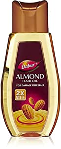 Dabur Almond Hair Oil for Damage Free Hair, 500ml