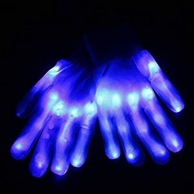 likeitwell Guantes Luminosos LED
