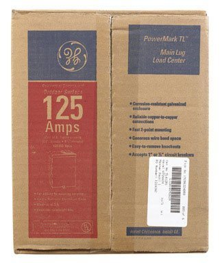 GE Energy Industrial Solutions TL412R1P Main Lug Outdoor Load Center, 125-Amp by GE -