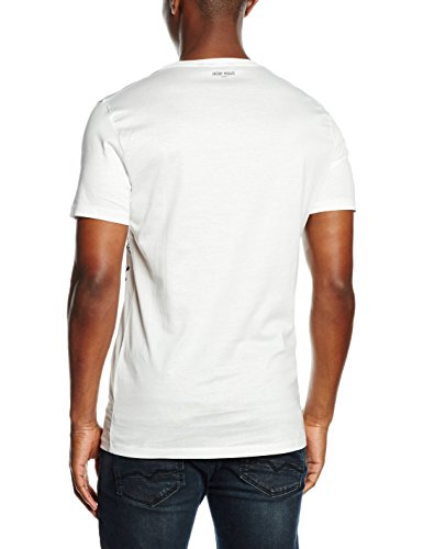 Antony Morato Herren T-Shirt Stampa Gold Mood mehrfarbig (1006/BIAnCO)