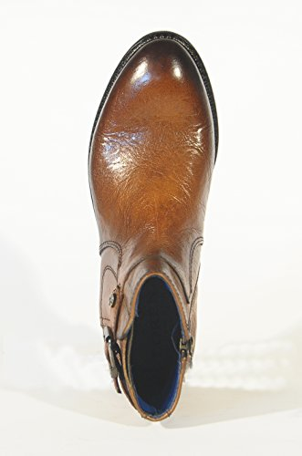 Calzaturificio Lorenzi S.a.s. 7917, bottine désert femme Marrone (Cognac)