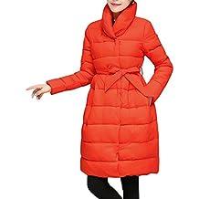 Cappotto di Piumino Lungo Cappotto di Pelliccia di Inverno delle Donne  Cappotto di Piumino Caldo delle 6f29007b93e