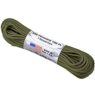 Atwood Rope 550 Lbs. Para Cord Oliv Grün