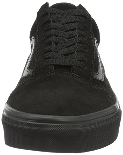 Vans Unisex-Erwachsene Old Skool Sneaker Schwarz (Suede)