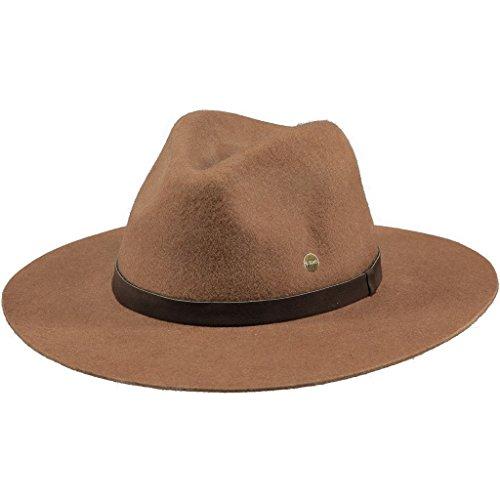 Barts Damen Fedora Avery Hat, Beige (Cammello Con Nastro Marrone ), M