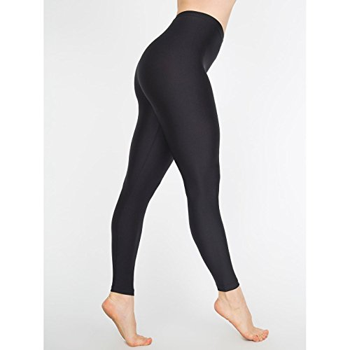 american-apparel-legging-brillant-femme-xs-noir