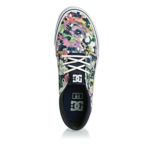DC Shoes Donna Trase TX Se Scarpe da Ginnastica Basse Multicolore